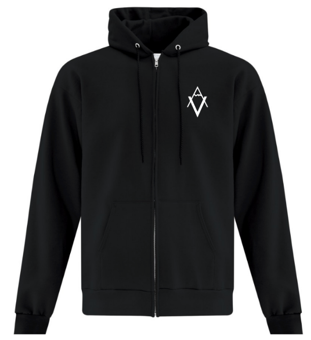 The Zip Up Hoodie, VA | Unisex | Vancouver Apparel