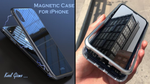 iPHONE LUXURY MAGNETIC ADSORPTION METAL CASE - kool gizmo