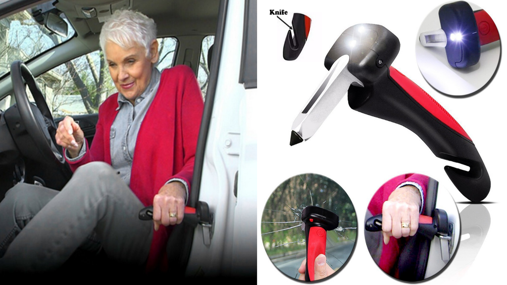 Multifunction Portable Car Cane