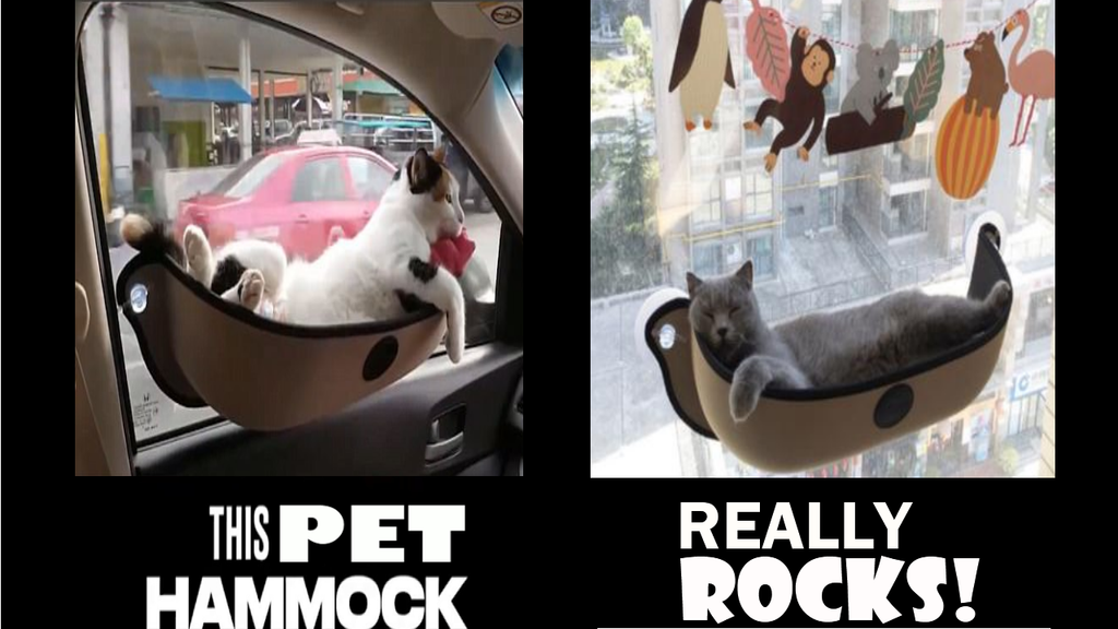NEW Pet Window Hammock