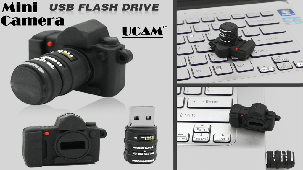 UCAM™ - Cute Mini Camera USB - kool gizmo