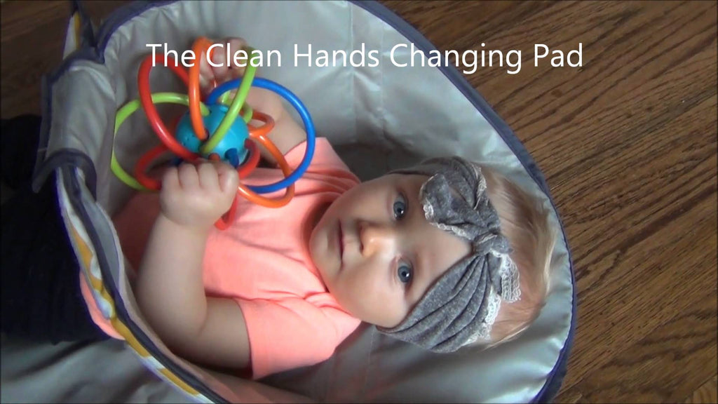 3 in 1 Clean Hands Changing Pad
