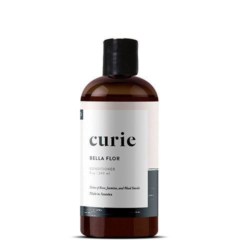 Paraben free, sulfate free, non-toxic conditioner from Curie. Made with our signature artisan fragrance, Bella Flor.