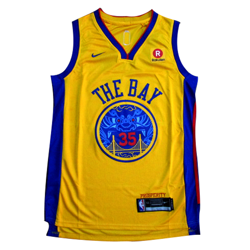3464f126c Camisa Golden State Warriors Kevin Durant  35 City Edition – Camisas ...