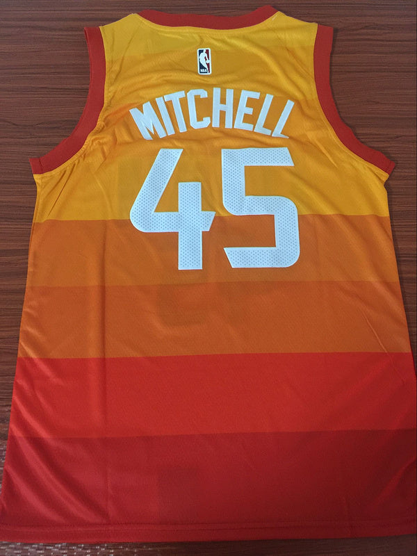 c8e78aa474c Utah jazz city edition jersey mitchell