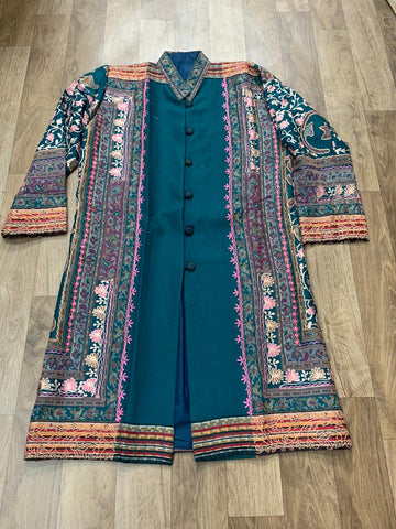 Pashmina Embroidered Coat