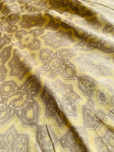 Load image into Gallery viewer, Modal Silk Ajrakh Saree - Light yellow