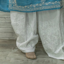 Load image into Gallery viewer, Cotton Aari Work Salwar Pant - White