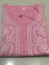 Load image into Gallery viewer, Cotton Brasso Print with Chikankari Kurta- Light Pink