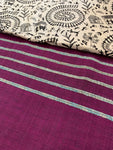 Khesh Gujjari Print Cotton Saree - Various Colours - Phulari