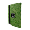 Floral Embossed Rotating Leather Case