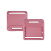iPad 2 3 4 Light Pink Light Weight Foam Shock Proof Stand Case Kids Friendly