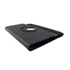 iPad Air 2 Solid Black PU Leather Case with 360 Degree Rotation + Screen Pro