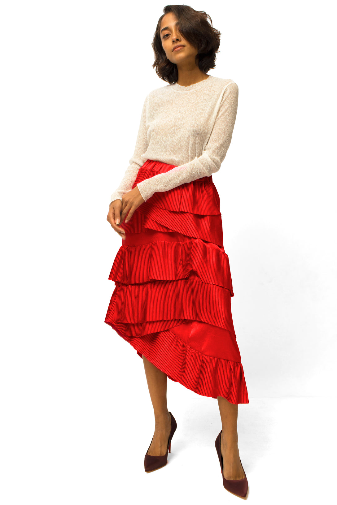 6978f134d89 LAYERED SKIRT - PLAY MORE HAUS