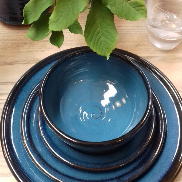 Mystic Blue Side Plate