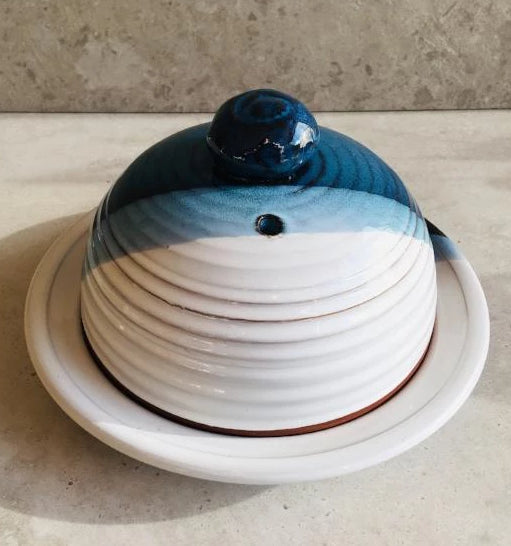 Atlantic Wave Cheese Dome (Platter sold separately)