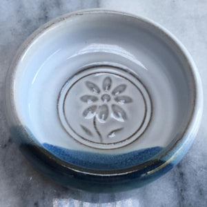 Atlantic Wave Flower Stamp Dish
