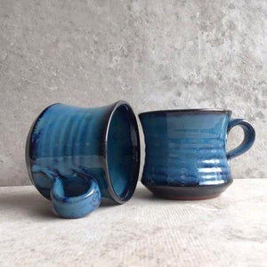 Mystic Blue Flared Mug