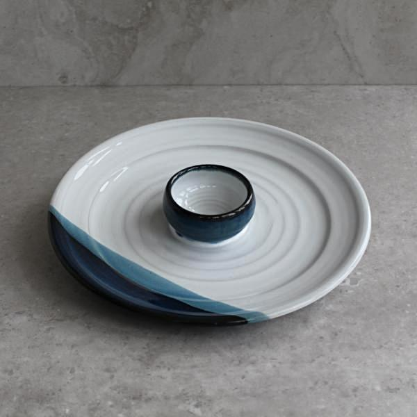 Atlantic Wave Crudite Plate