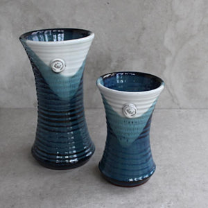 Atlantic Wave Small Flared Vase