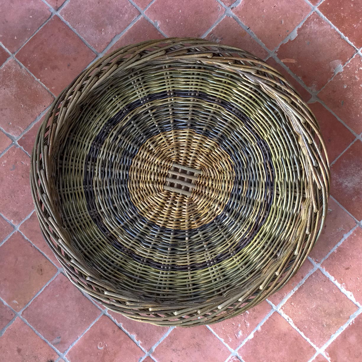 Large Handwoven Skib