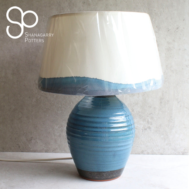 Mystic Blue Medium Lamp