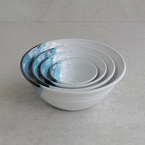 Atlantic Wave Large Bowl