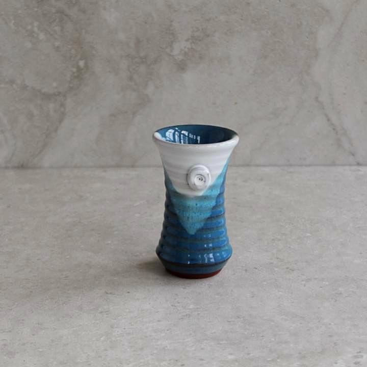 Atlantic Wave Mini Flared Vase