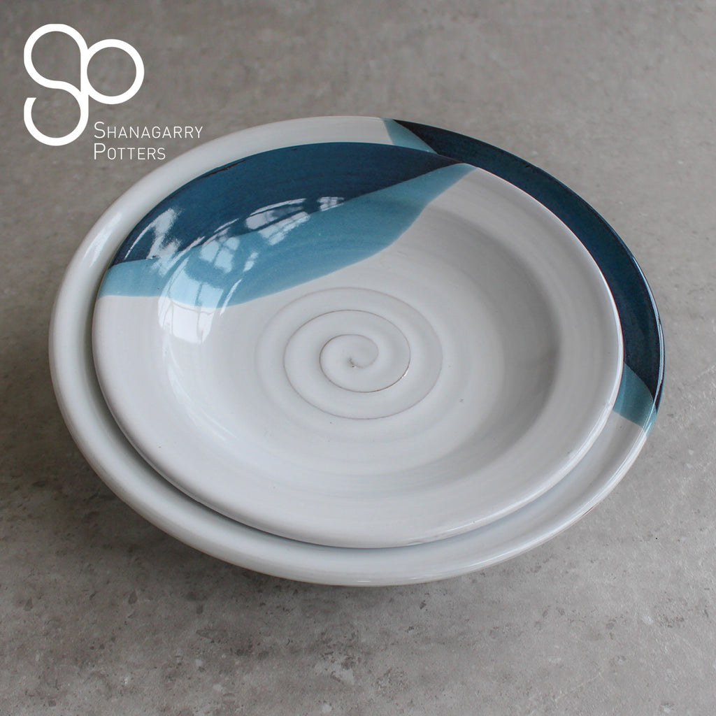 Atlantic Wave Medium Pasta Bowl