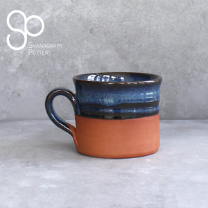 Blue on Red Regular Mug