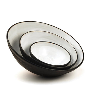 "Shanagarry Medium Patterned Bowl (9"")"