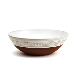 "Classic Medium Patterned Bowl (9"")"