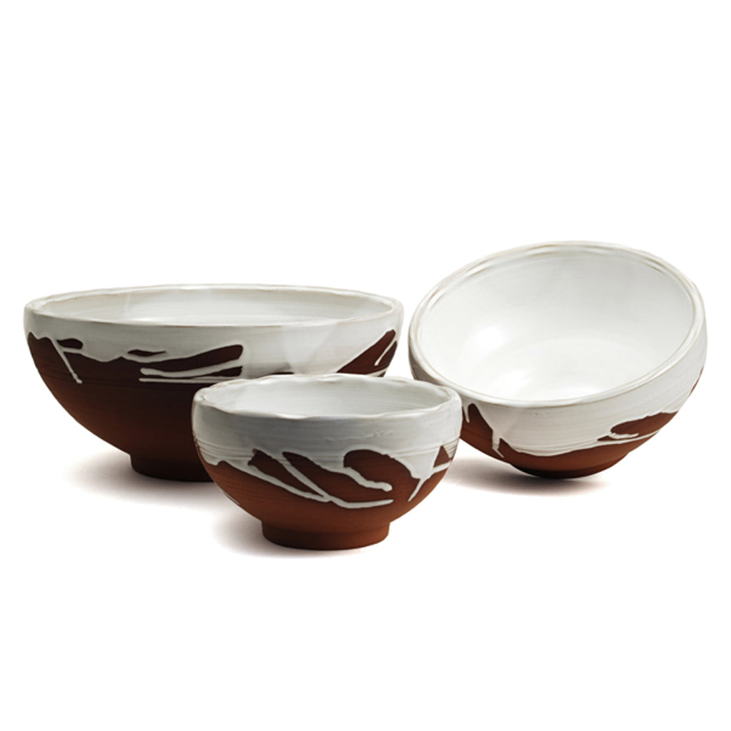 Set of Classic Decorated Bowls