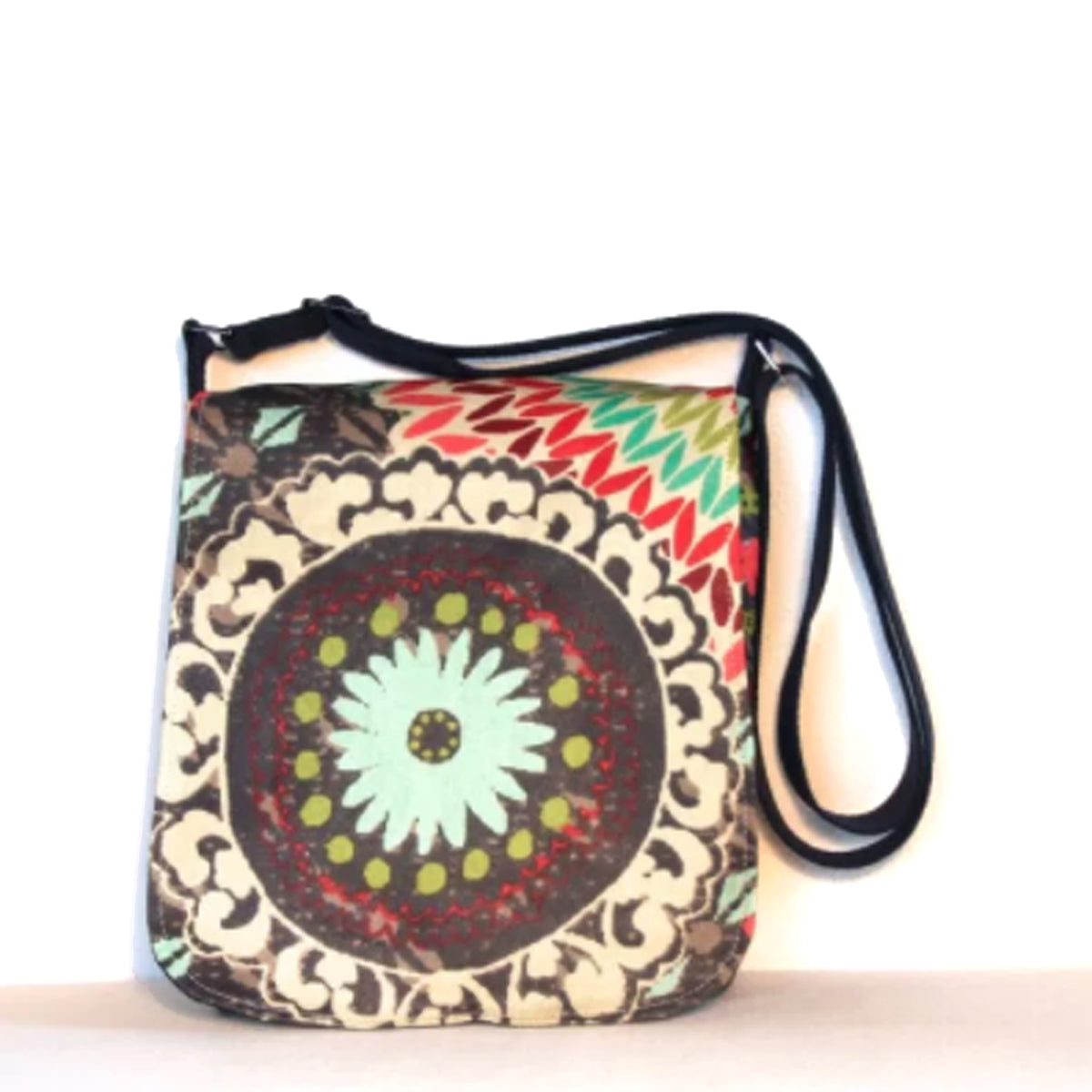 a1519adae Sallyann Cross Body Messenger Bag Small Funky Slate – Shanagarry Potters