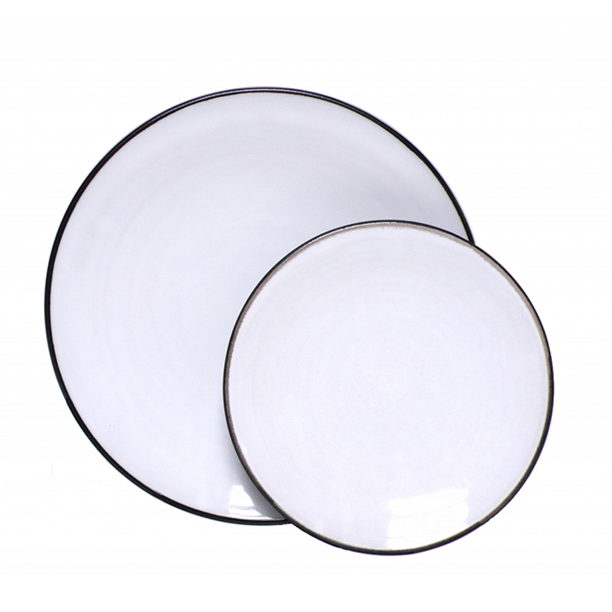 Shanagarry Coupe Plate Set