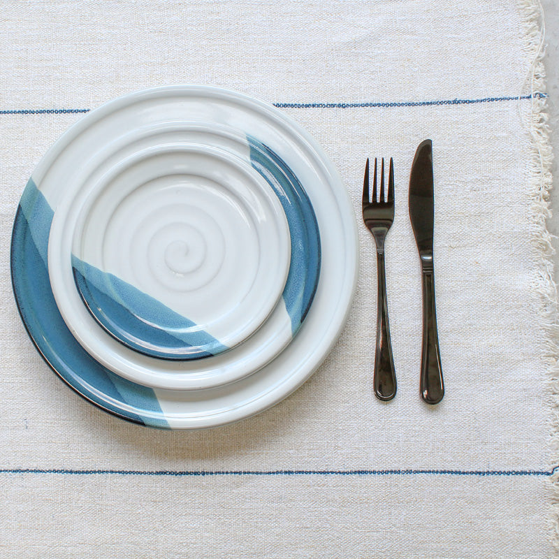 Atlantic Wave Dinner Plate