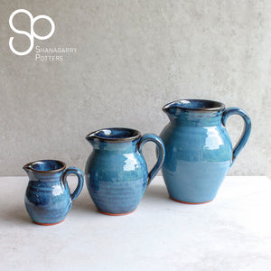 Mystic Blue Medium Pitcher