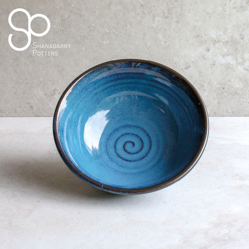 Mystic Blue Large Bowl