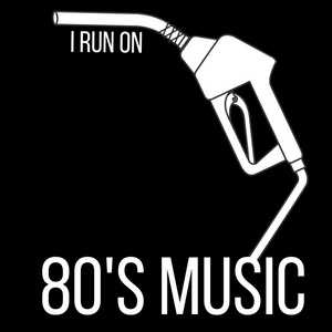 I Run On: 80's Music Tee - Indie Band Coach