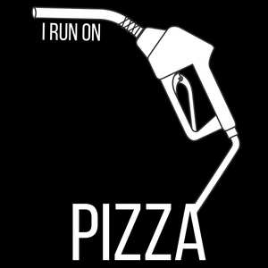 I Run On: Pizza Tee - Indie Band Coach