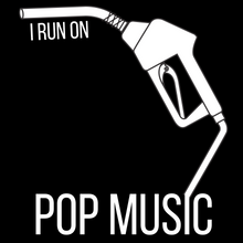Load image into Gallery viewer, I Run On: Pop Music Tee - Indie Band Coach