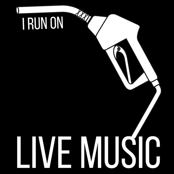 I Run On: Live Music Tee - Indie Band Coach