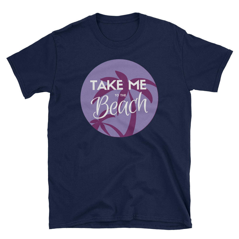 Take Me to the Beach (Lavendar) - Indie Tee - Indie Band Coach