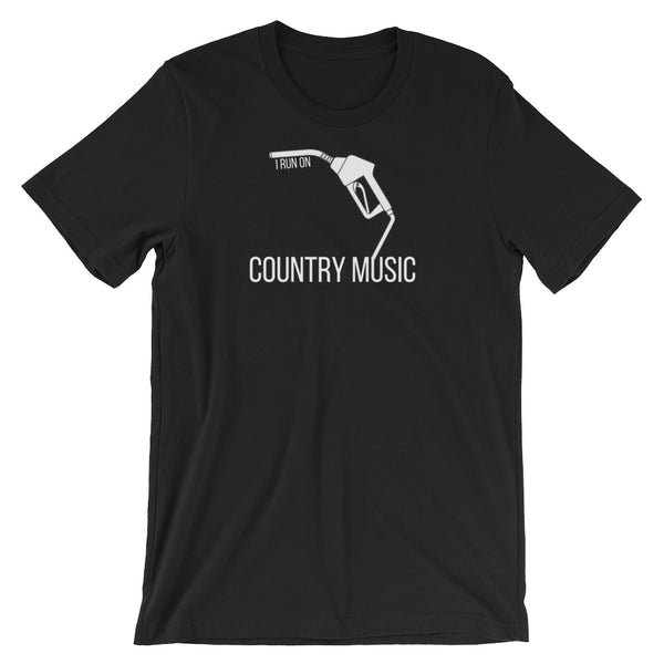 I Run On: Country Music Tee - Indie Band Coach