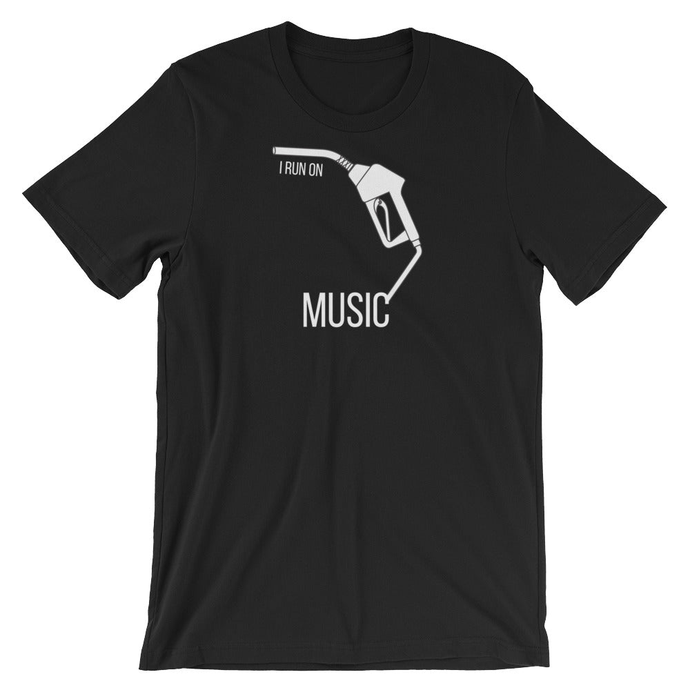 I Run On: Music Tee - Indie Band Coach