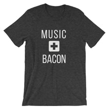 Load image into Gallery viewer, Music + Bacon Tee - Indie Band Coach