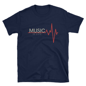 Music Is Life - Inspirational T-Shirt - Indie Band Coach