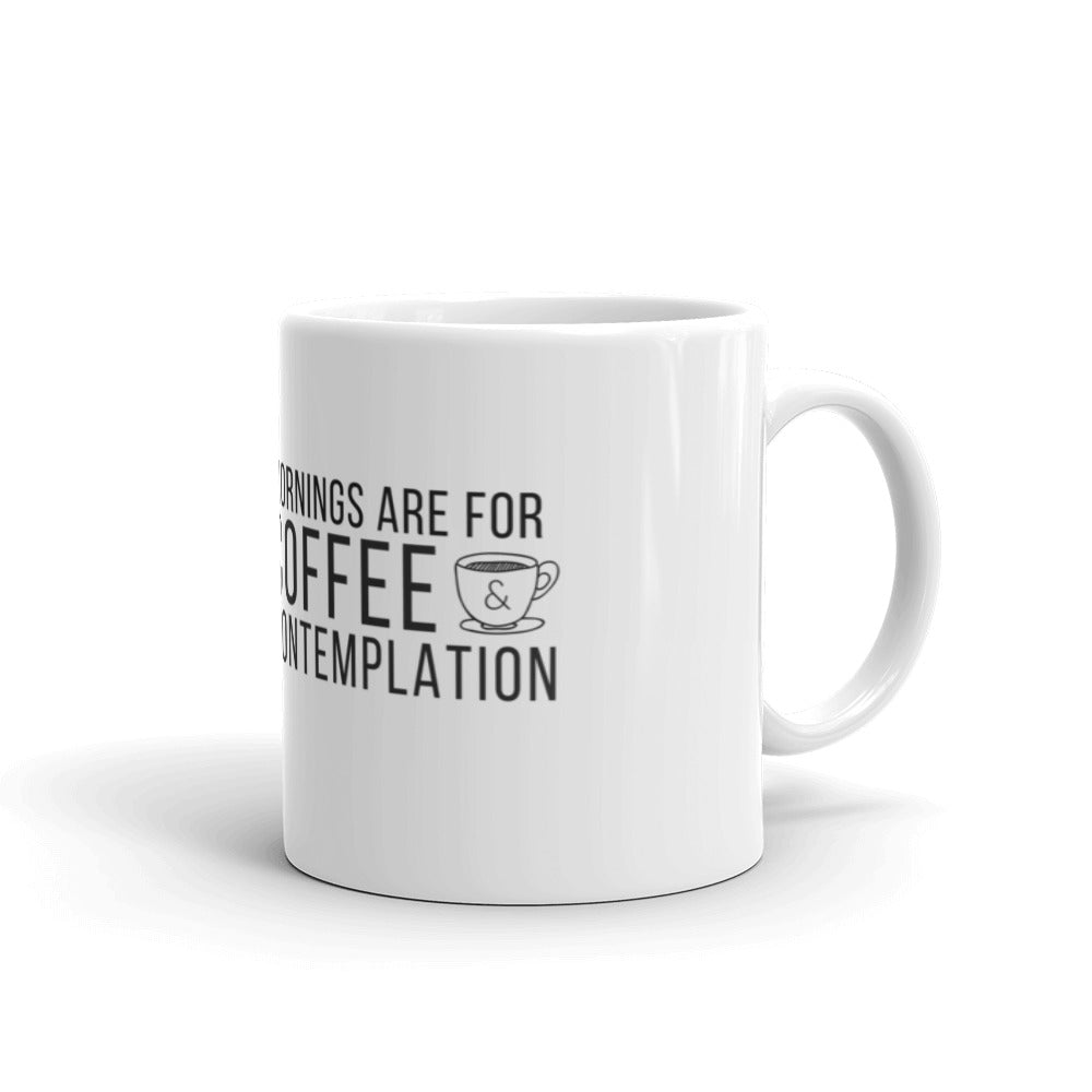 Stranger Things: Coffee and Contemplation Mug - Indie Band Coach