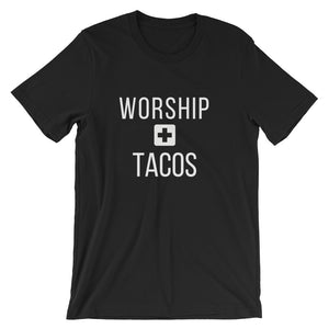 Worship + Tacos Tee - Indie Band Coach