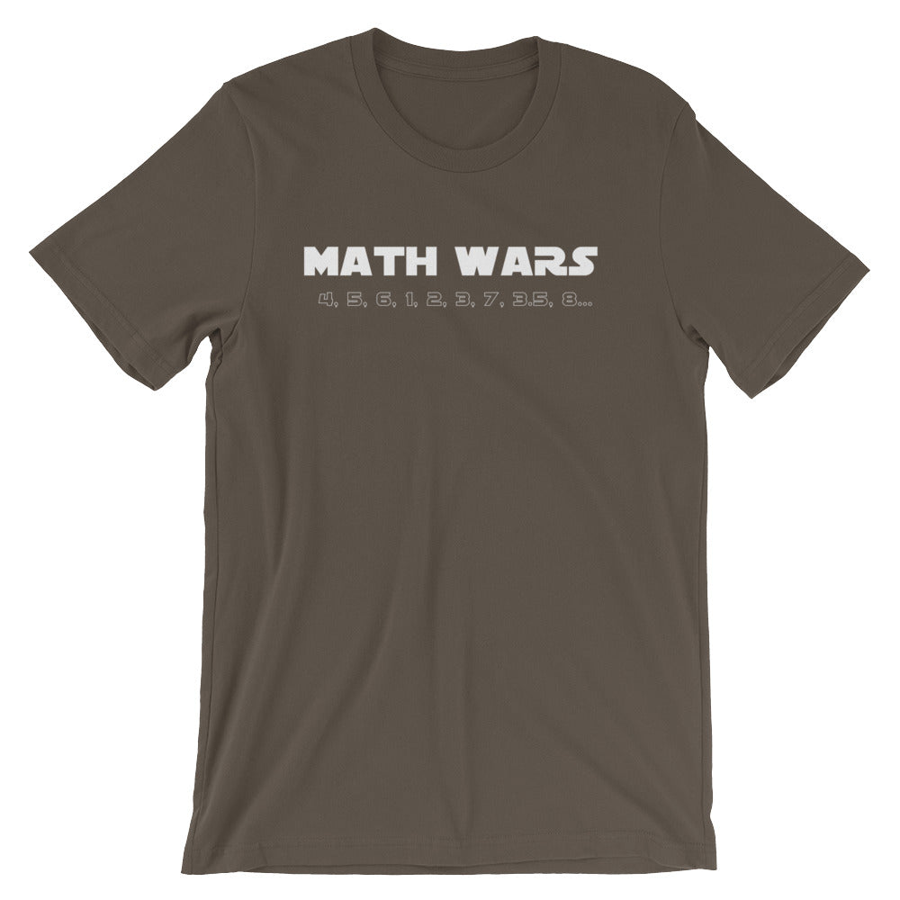 Star Wars: Math Wars Tee - Indie Band Coach